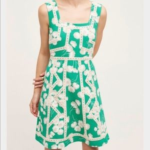 Maeve Emma Fit & Flare Dress Anthropologie 0